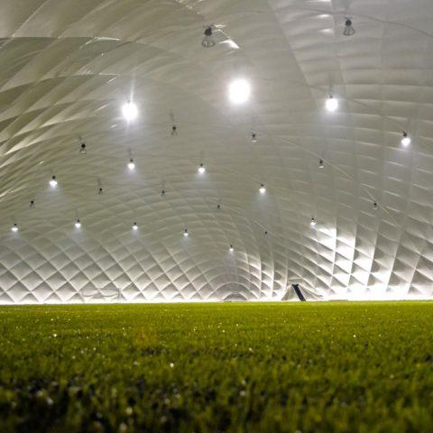01-2014 / Nave de fútbol para SZALOWA SPORT